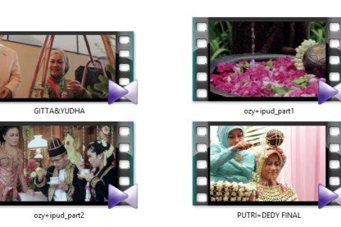 Paket Jasa Profesional Pembuatan Foto dan Video Shooting Pre Wedding, Pernikahan dan Ulang Tahun